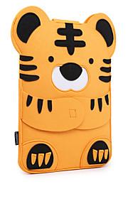 for MacBook Air pro 11.3 12 13.3 15.4 ermer tilfelle dekke tegneserie dyr følte nydelig laptop bag vaskebjørn tiger