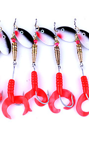 5pcs 6.9g Soft Fish Lure Fishing Bait