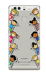 용 패턴 케이스 뒷면 커버 케이스 카툰 소프트 TPU 용 Huawei 화웨이 P9 화웨이 P9 라이트 Huawei P9 Plus Huawei P8 Huawei P8 Lite Huawei Mate 9 Huawei Mate 8