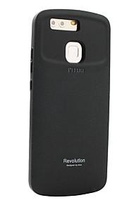 Voor Schokbestendig Mat hoesje Achterkantje hoesje Effen kleur Hard Siliconen voor Huawei Huawei P9 Huawei Mate 8