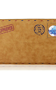 For MacBook Air Pro 11.6 Sleeve Simple Leisure Retro Envelope Style Notebook Bag Solid Color PU Laptop Sleeves Universal