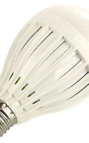 9W E27 LED-globepærer A60(A19) 18 SMD 5730 800 lm Varm hvit Kjølig hvit Dekorativ V 1 stk.