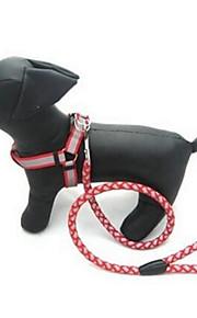 Собаки Поводки Регулируется/Выдвижной Автоматический Твердый Красный Черный Синий Нейлон Пластик
