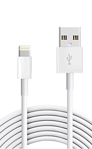 USB 2.0 Normalny/a Kable Na Apple 300 cm TPE