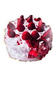 Brocher Geometrisk form Legering Rød Euro-Amerikansk Smykker Daglig