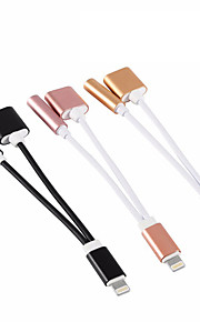 USB 2.0 Przenośny Adapter Na Apple iPhone 15 cm Aluminum TPE