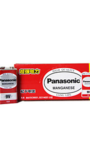 Panasonic 6f22nd 9v carbon sink batteri 10 pakken