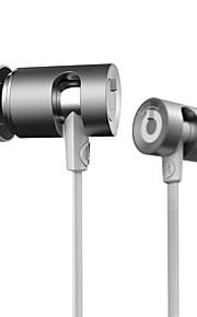 耳イヤホン音楽イヤホンでdzat DR-10調節可能な重低音ハイファイヘッドセットワイヤーイヤフォン