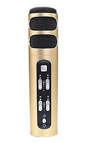 no Com Fios Microfone de Karaoke 3.5mm Dourado