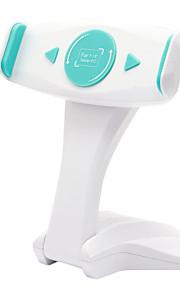 Tablet-Ständer Plastik Schreibtisch Tablet-Halter Universal Transportabel 360 dreh Weiß