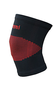 Unisex Knee Brace Protective Football Sports Elastane Red Black