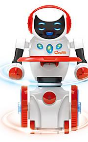 Robô FM Cantando Dançando Caminhada Falando Controle de som Eletrônica Kids '