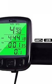 Cycling/Bike Computer Waterdichte  Lcd Backlight Av - Average Speed Odo - Odometer Backlight Tme - Lapsed Time SPD - Current
