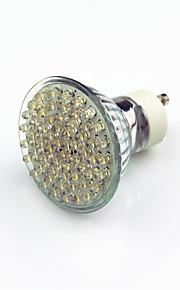 2W GU10 LED-spotlampen 60 Dip LED 200 lm Warm wit Decoratief AC220 V 1 stuks