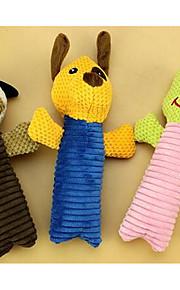 Zabawka dla psa Zabawki dla zwierząt Zabawki piszczące Pisk Wielokolorowy Tęczowy Plusz