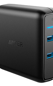ポータブルチャージャー iPad用 ユニバーサル充電器 タブレット用 USBポート×2 USプラグ