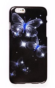 For IPhone 7 Pattern Case Back Cover Case DIY Rhinestone Butterfly for IPhone 6s 6 Plus 7 7Plus 5s 5 5c Se