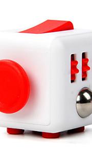Brinquedos Cubo Macio de Velocidade Cube Fidget Novidades Alivia Estresse Cubos Mágicos Vermelho / Plástico