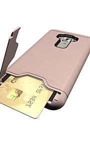 asus zenfone 3 ze552kl (5.5) 케이스 커버 카드 홀더 충격 방지 및 스탠드 뒷 커버