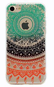Per Fantasia/disegno Custodia Custodia posteriore Custodia Design di pizzo Morbido TPU per Apple iPhone 7 Plus iPhone 7