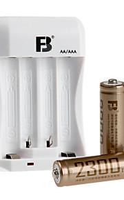 fb fb-15 aa NiMH oplaadbare alkaline batterij 1.2V 2300mAh 2 st