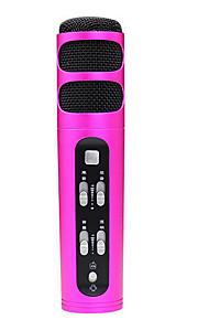 no Com Fios Microfone de Karaoke 3.5mm Vermelho