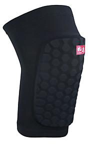 Unisex Knee Brace Protective Football Sports Lycra Spandex Black