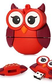 16gb store øyne rød ugle usb 2.0 flash-stasjon for festival gave / forretning / lagring