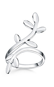 Ringe Livets træ Daglig Afslappet Smykker Sølvbelagt Ring 1 Stk.,Justerbar Sølv