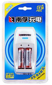 Nanfu aa NiMH oplaadbare batterij 1.2V 1600 mAh 2 st