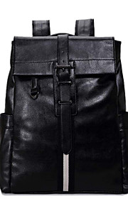 Carwaluu 15.6 Inch Laptop Bags PU Leather Computer Shoulder Bag