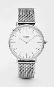 Mulheres Relógio de Moda Quartzo Lega Banda Casual Preta Branco Dourada Dourado Branco Preto