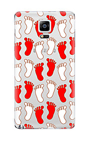 For Samsung Galaxy Note5 Note 4 Pattern Case Back Cover Case Cartoon TPU Samsung  Note 3 Note2
