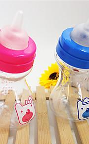 Katze Hund Futter-Vorrichtungen Haustiere Schüsseln & Füttern Tragbar Blau Rosa
