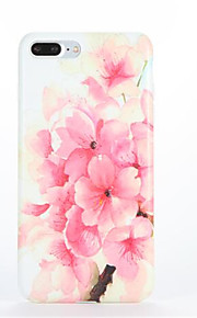 Voor Patroon hoesje Achterkantje hoesje Bloem Zacht TPU voor Apple iPhone 7 Plus iPhone 7 iPhone 6s Plus iPhone 6 Plus iPhone 6s Iphone 6