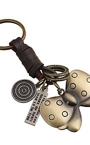 Key Chain 蝶型 Key Chain ピーチ メタル