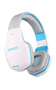 b3505 bluetooth sport headset draadloze gaming koptelefoon met microfoon voor iPhone mac smartphones pc computers laptops (wit)