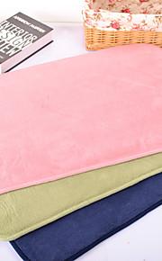 lit de chien de chat tapis de lit animal solide rose bleu vert