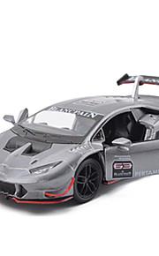 Macchina da corsa Veicoli a molla Giocattoli Car 1:28 ABS Nero Bianco Verde Modellino e gioco di costruzione