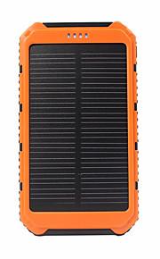 5000mAhmAh전원 은행 외부 배터리 태양열 충전 플래쉬 라이트 5000mAh 1000mA 태양열 충전 플래쉬 라이트