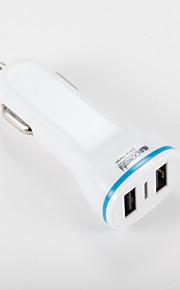 Caricabatteria da auto Per iPad Per cellulare Per tablet Per iPhone 2 porte USB Altro