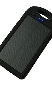 8000mAh전원 은행 외부 배터리 태양열 충전 멀티 출력 플래쉬 라이트 8000 1000 태양열 충전 멀티 출력 플래쉬 라이트