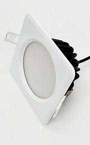 調光可能800-850lm IP65防水白い四角9ワットZDMはAC220V調光ランプを主導しました