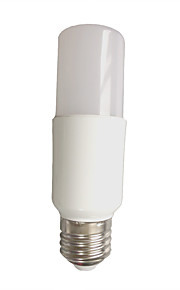 7W E26/E27 Bombillas LED de Globo T 6 SMD 2835 630 lm Blanco Cálido Blanco Fresco Decorativa AC 100-240 V 1 pieza