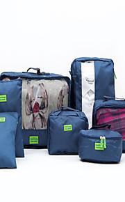 Inpak-organizer Draagbaar voor Opbergproducten voor op reisRood Groen Blauw