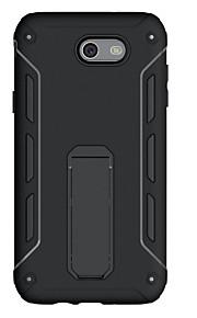 Per Resistente agli urti Con supporto Custodia Custodia posteriore Custodia Tinta unita Resistente PC per SamsungJ7 (2016) J7 Prime J7