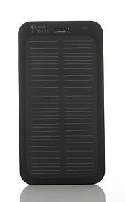 SUNWALK 5000mAh Ultra Slim Solar Charger Battery 5V Output Solar External Battery for Cell Phone