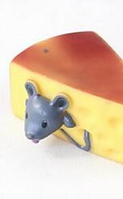 Игрушка для собак Игрушки для животных Игрушки с писком Скрип Резина Желтый