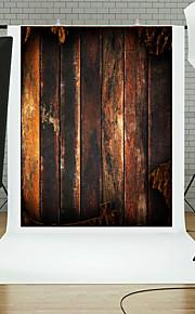 5x7ft mur gulv fotografering baggrund studie træ rekvisitter blå bord tema ny