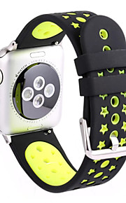 pour la série bracelet montre Apple iWatch 2 1 sports silicone bande de fitness remplacement 38mm 42mm